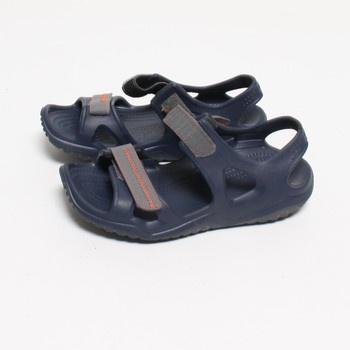 Pánské sandále Crocs Swiftwater River hnědé