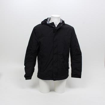 Pánská zimní bunda Napapijri černá s kapucí