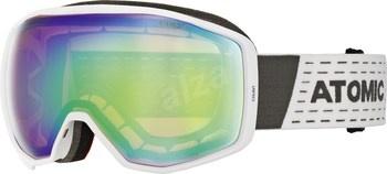 Bílé lyžařské brýle Atomic Count Stereo