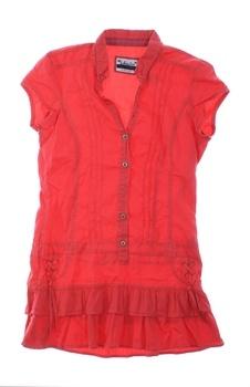 Dětské šaty červené Bershka