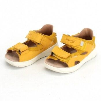 Dětské sandály Superfit 1000510 žluté