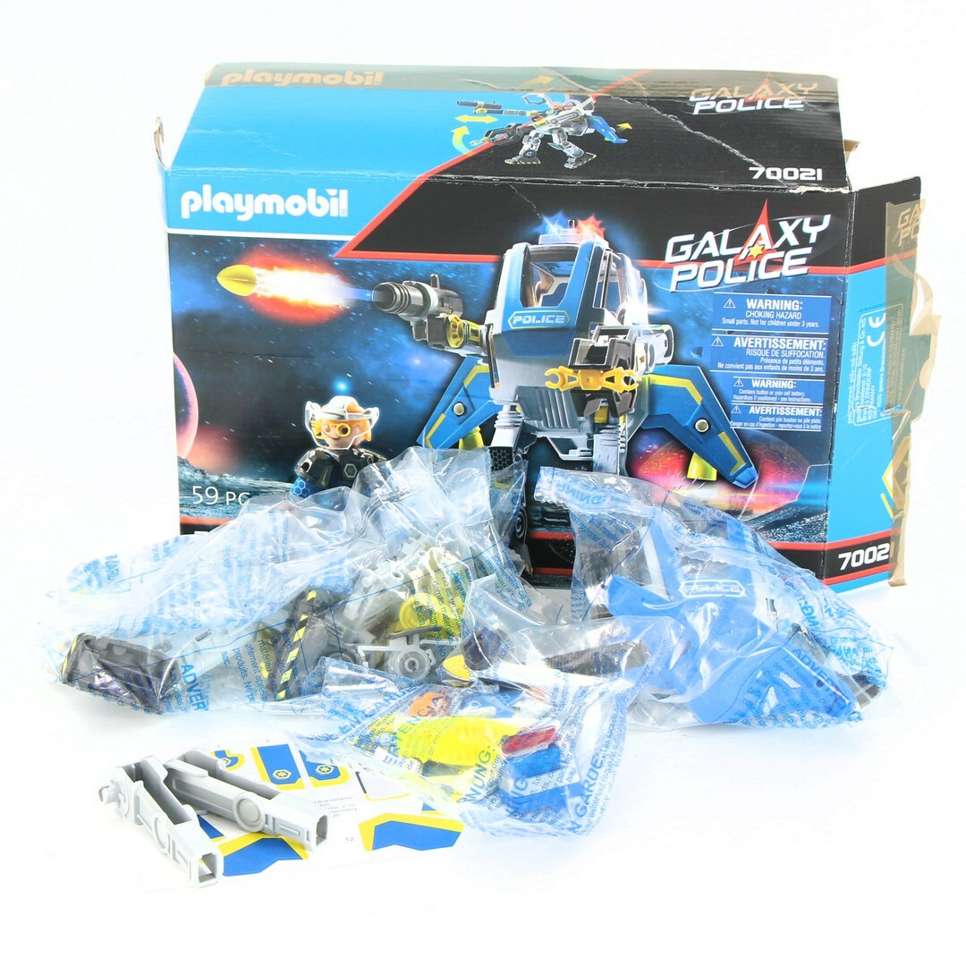 Playmobil 70021 Galaxy Police Robot