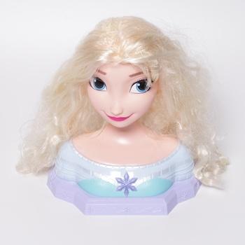 Česací hlava Disney Frozen Deluxe Elsa