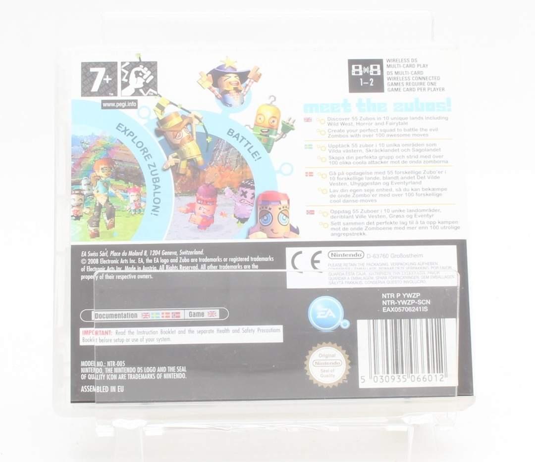 Hra na Nintendo DS: Zubo