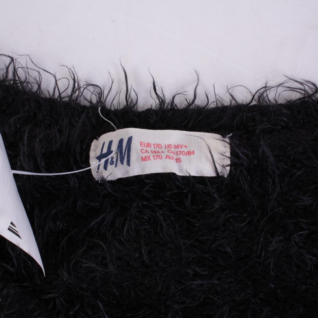 Dětský svetr H&M černo-bílý