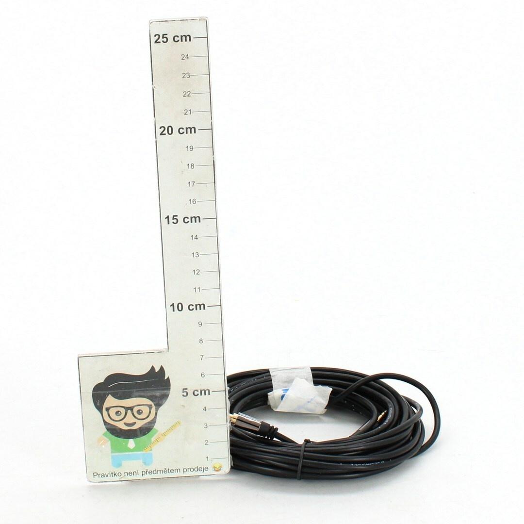 Audio kabel KabelDirekt 407 AUX 7,5 m
