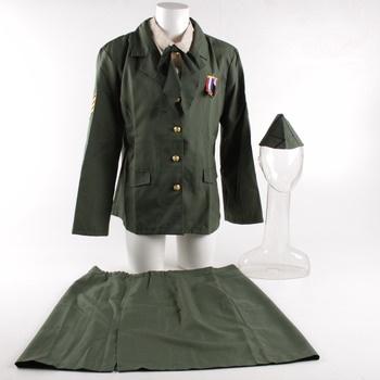 Dámský karnevalový kostým Vojačka/vojákyně