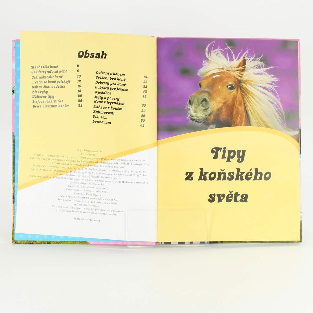Kniha Tipy z koňského světa