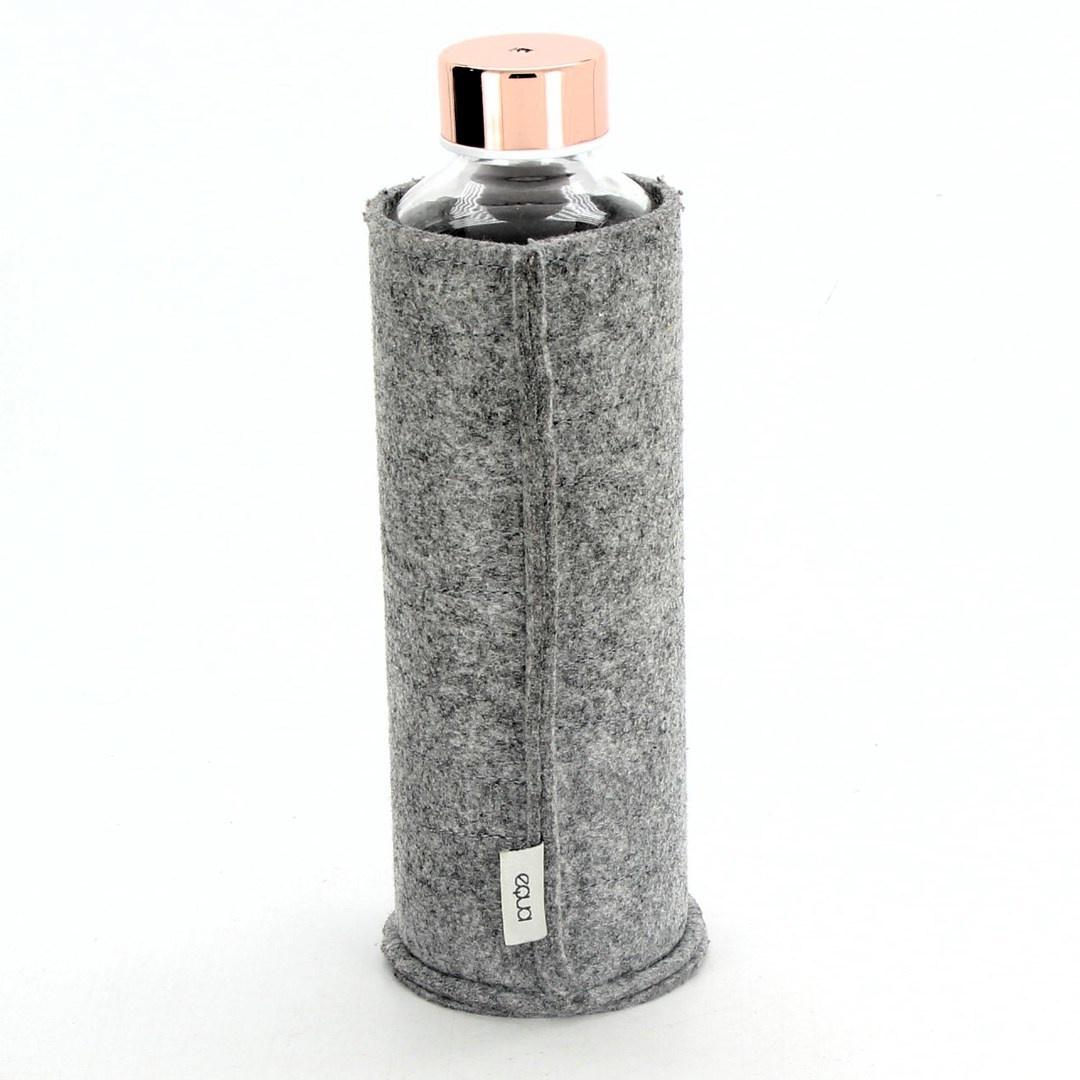 Skleněná lahev Aqua s pouzdrem 750ml