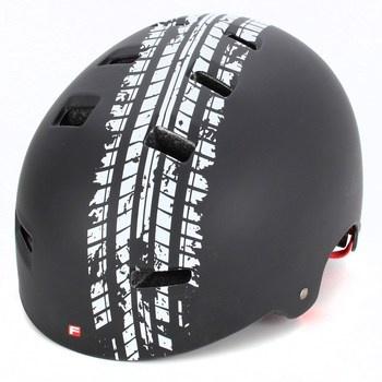 BMX helma značky Fischer černé barvy