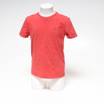 Chlapecké tričko Tommy Hilfiger červené