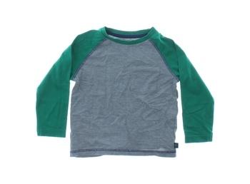 Dětské triko F&F s dlouhým rukávem šedé