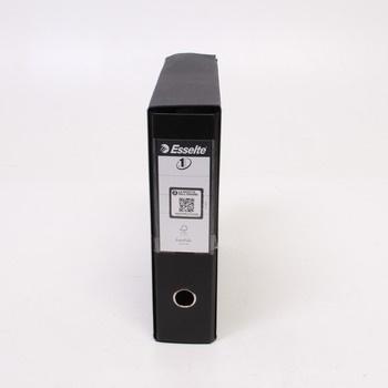 Šanon Esselte 8 cm černé barvy