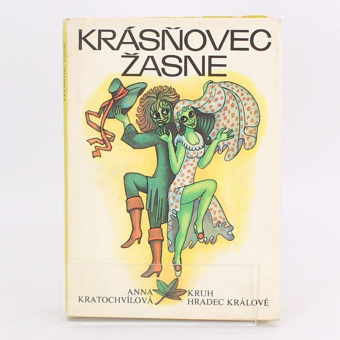 Kniha Krásňovec žasne Anna Kratochvílová