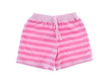 Dětské šortky TU růžové s proužkem
