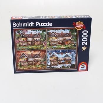 Dětské puzzle 4v1 Schmidt 58345