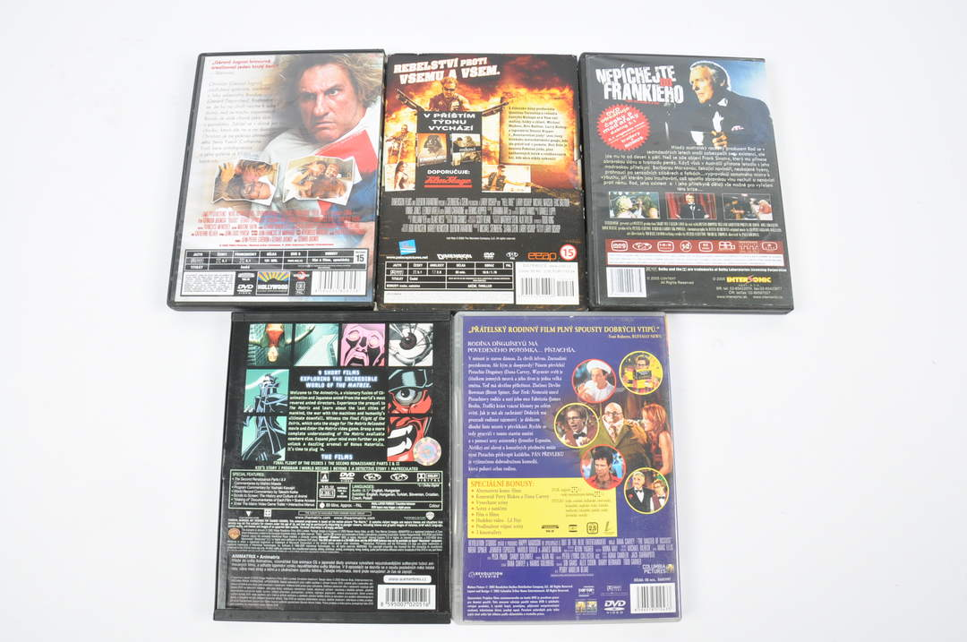 5x DVD - Pekelná jízda, Pán převleků a další