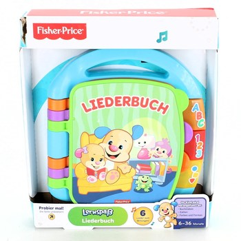 Knížka Fisher Price Liederbuch