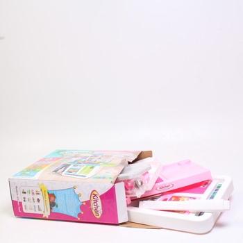 Dětská kuchyňka deAO růžová