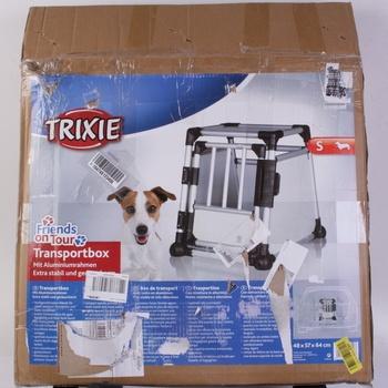 Hliníková transportní klec pro psa Trixie