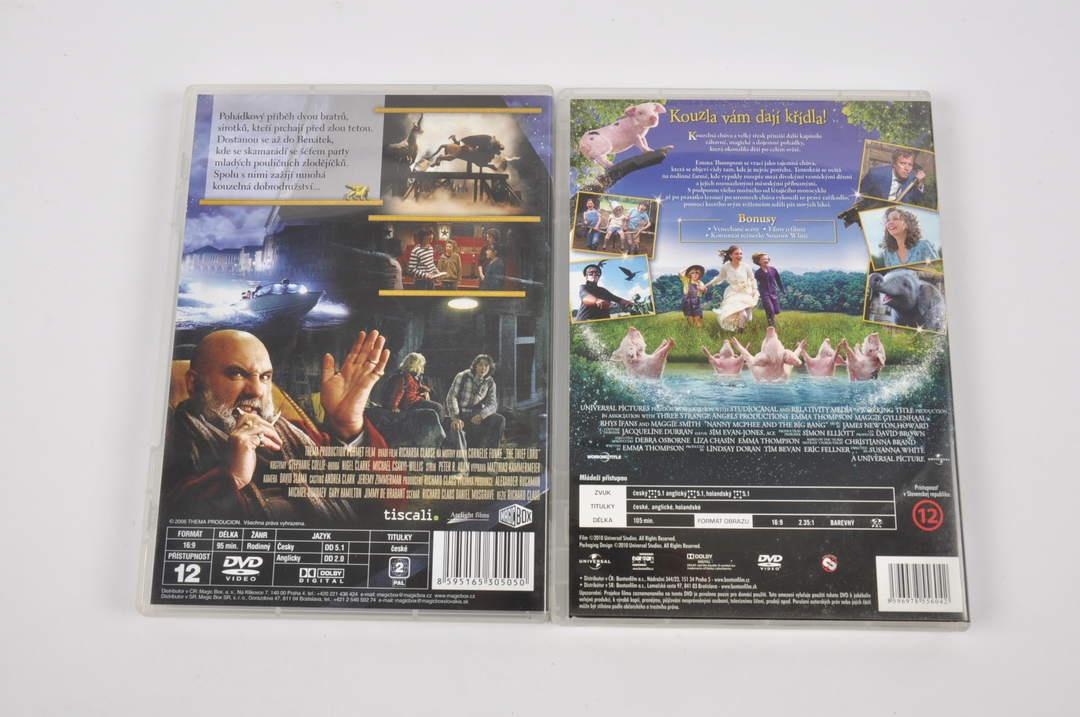 2x DVD - Pán zlodějů a Kouzelná chůva