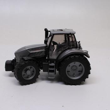 Model traktoru Bruder šedivý 450760700