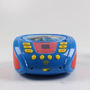 Rádio s CD přehrávačem Lexibook RCD108PA