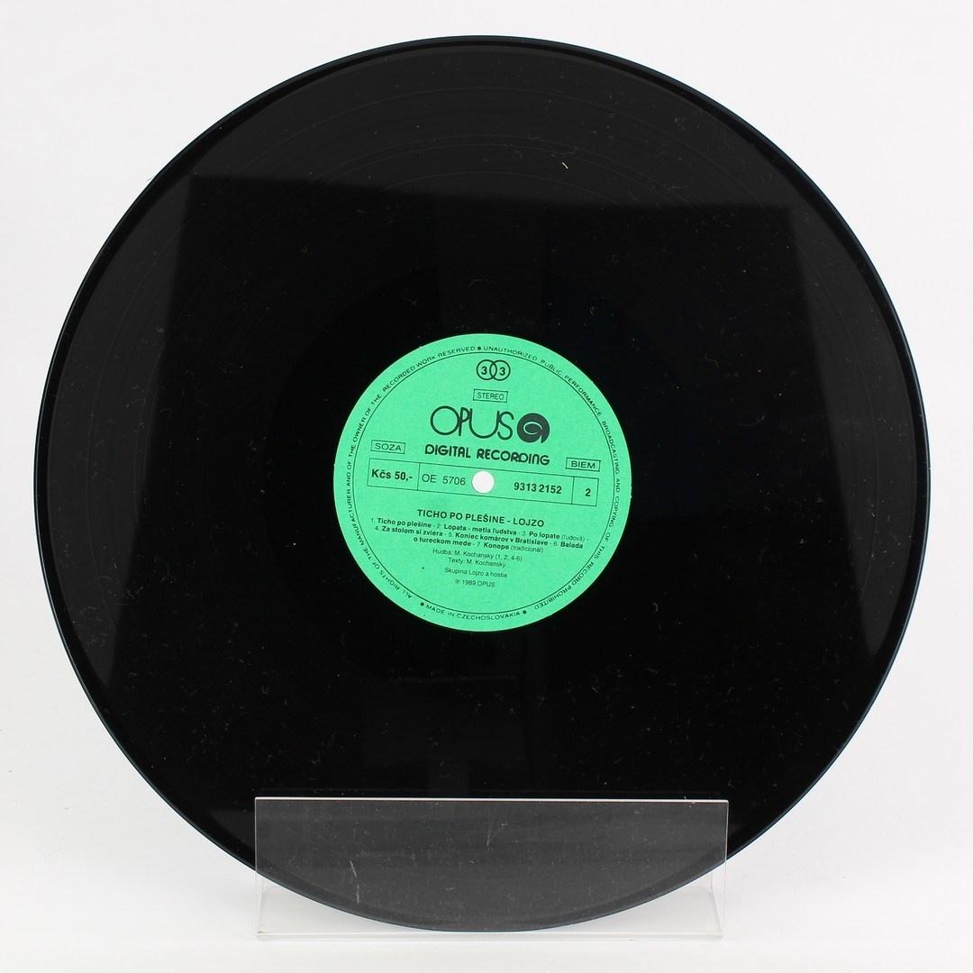 Gramofonová deska  Ticho po plešine Lojzo