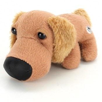 Plyšový pejsek The Dog hnědý