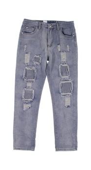Dámské džíny Jeans modré ošoupané