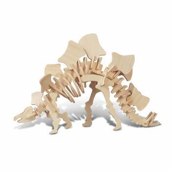 Dřevěné puzzle Lamps HR160 Stegosaurus