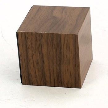 Digitální budík Gingko Cube GK08R8, oříškový