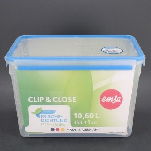 Plastová dóza Emsa Clip&Close, 10,8 l