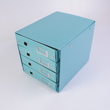 Kartonová krabice Leitz se šuplíky