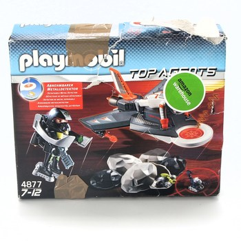 Stavebnice Playmobil 4877 Agent Detector Jet