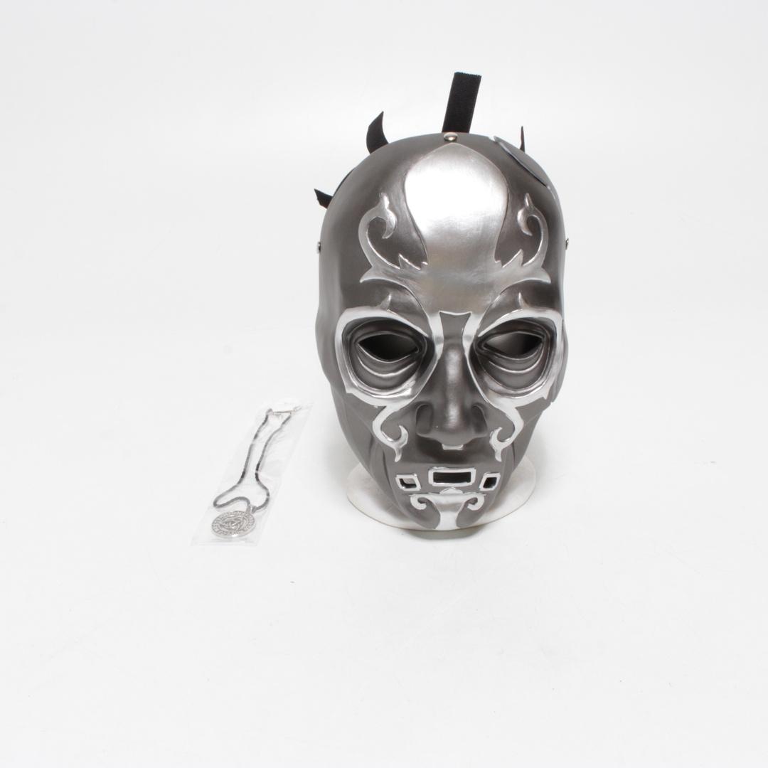 Maska Zyer Máscara -002 stříbrná