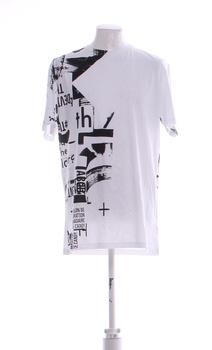 Pánské tričko Antony Morato bílé s potiskem