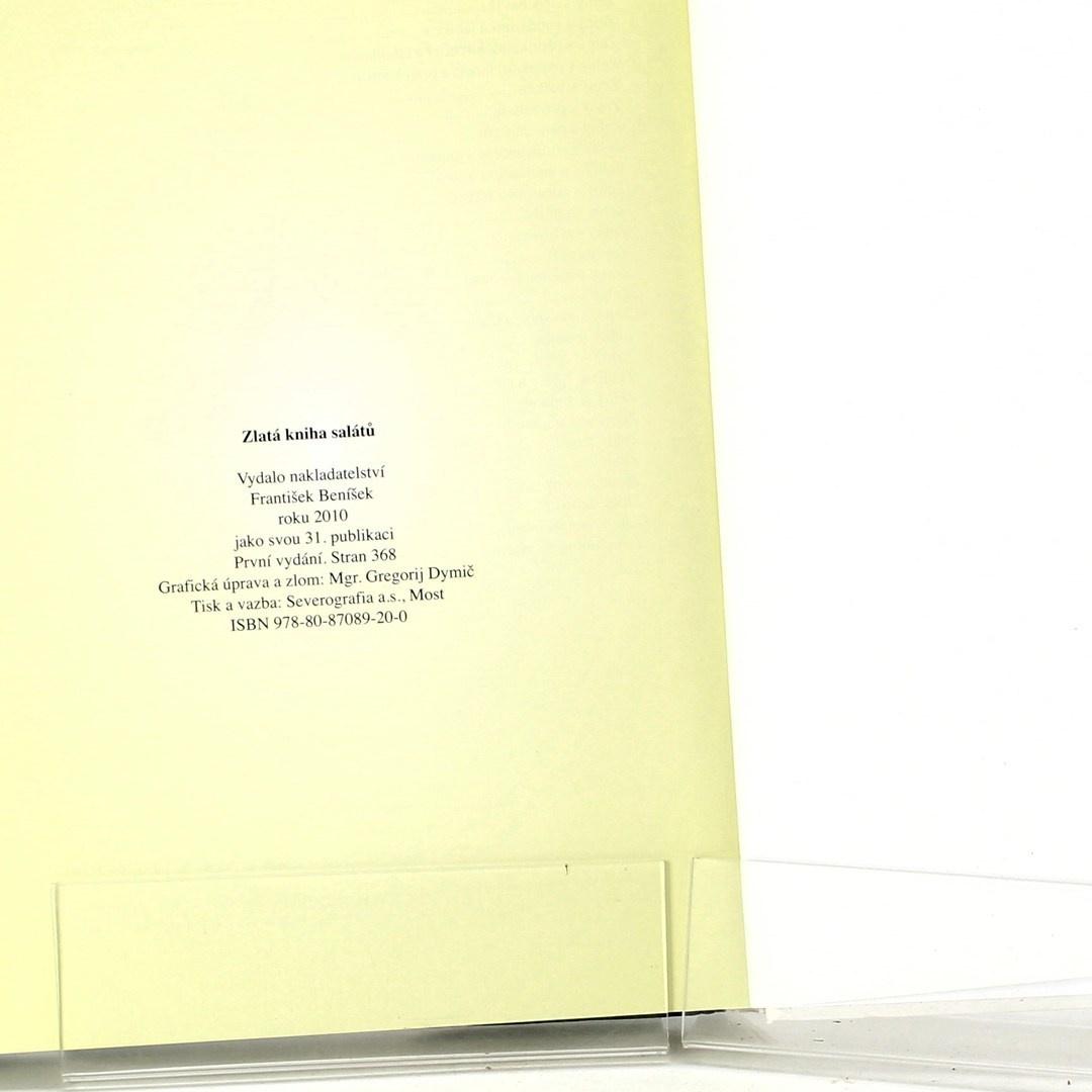 Kolektiv autorů: Zlatá kniha salátů