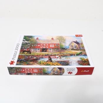 Puzzle 2000 Trefl TR27106 život na venkově