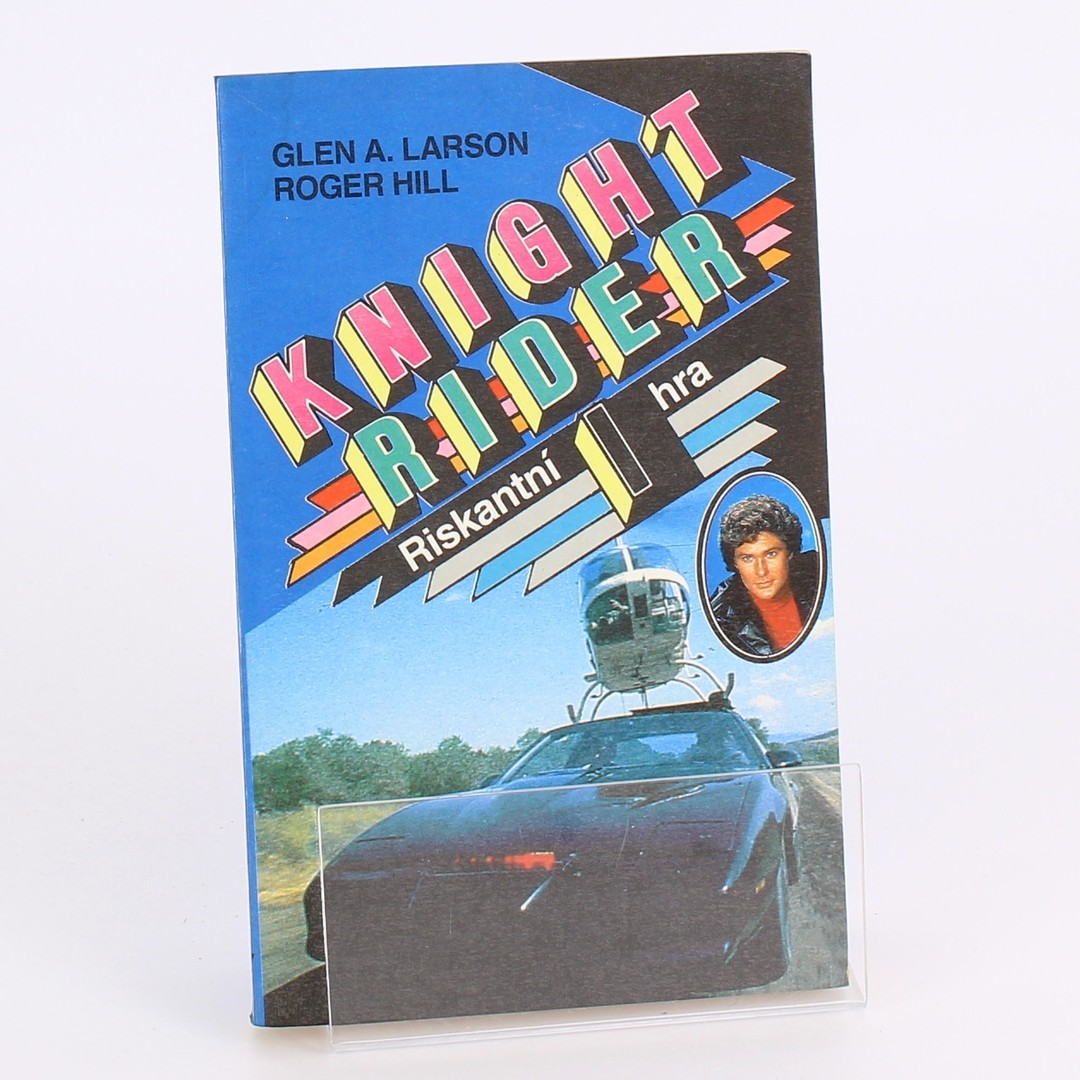Kniha Knight Rider I - Riskantní hra