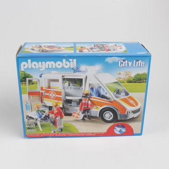 Stavebnice Playmobil 6685 City Life Sanitka