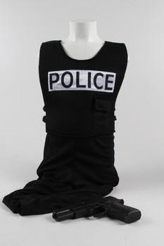 Dětský karnevalový kostým Policista