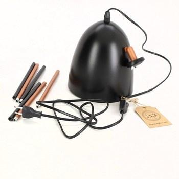 Stolní lampa Eglo 49385 černá/měď