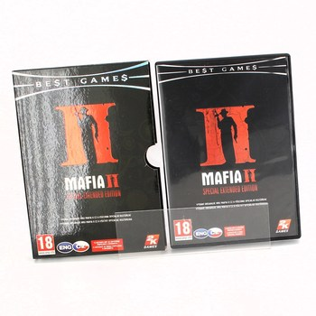 Herní DVD: Mafia II special extended edition
