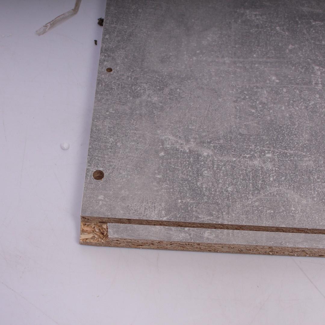 Komoda Nicolus KF Board šedobílá