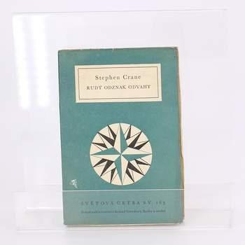 Kniha Rudý odznak odvahy Stephen Crane