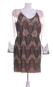Elegantní šaty BodyFlirt hnědé
