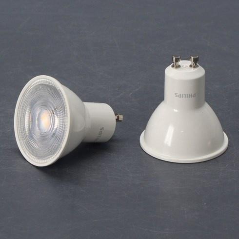 LED žárovky Philips GU10 4,7 W sada 3 ks