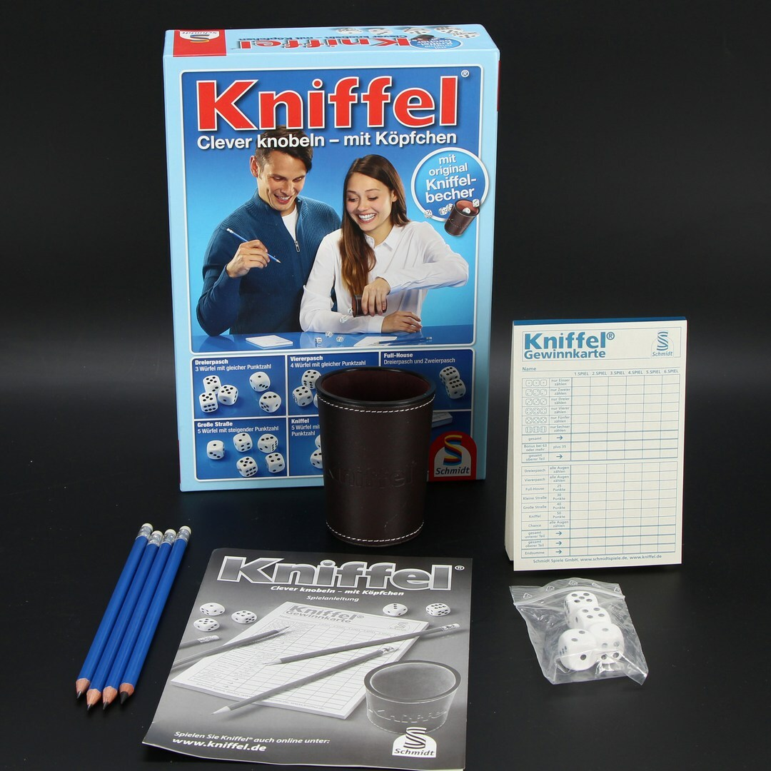 Kostková hra Schmidt Kniffel