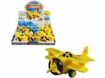 Letadlo na setrvačník Bomber 6ks